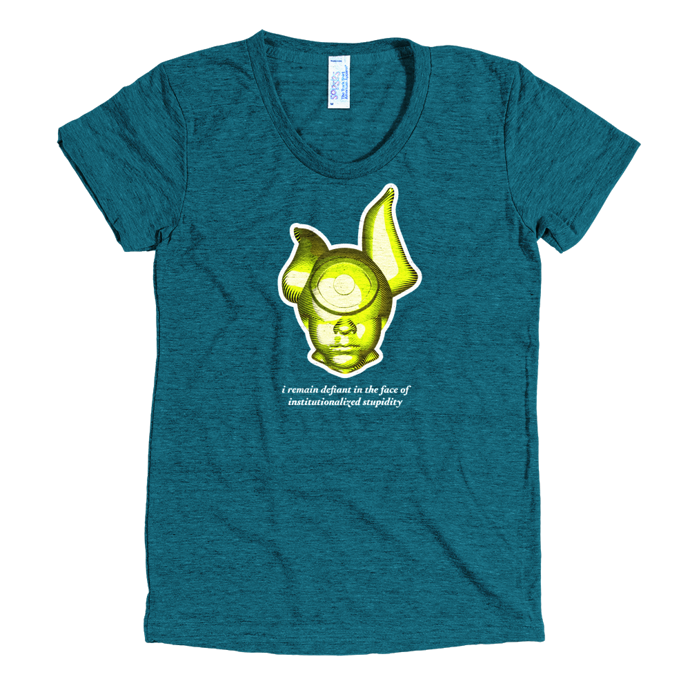 Object of Defiance: T-Shirt 001 Tri-Evergreen