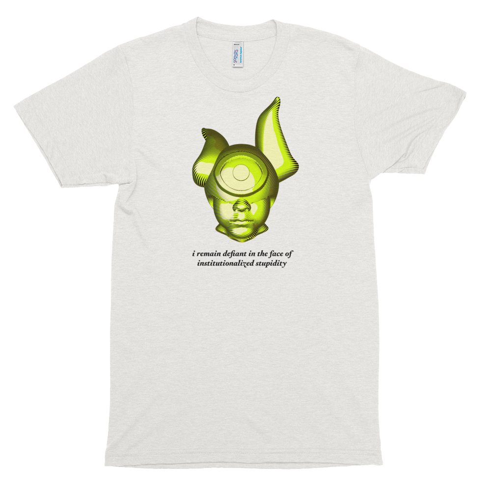 Object of Defiance T-Shirt 001 Oatmeal