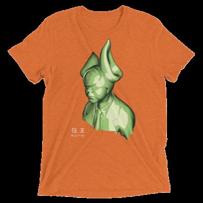 """Cycloptical Power Suited"" T-Shirt by Elliott Earls Triblend Bella + Canvas in Orange"