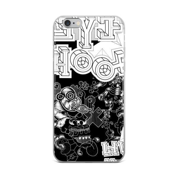 """14f0629ce63 The """"Language Trap"""" iPhone Case by Elliott Earls"""